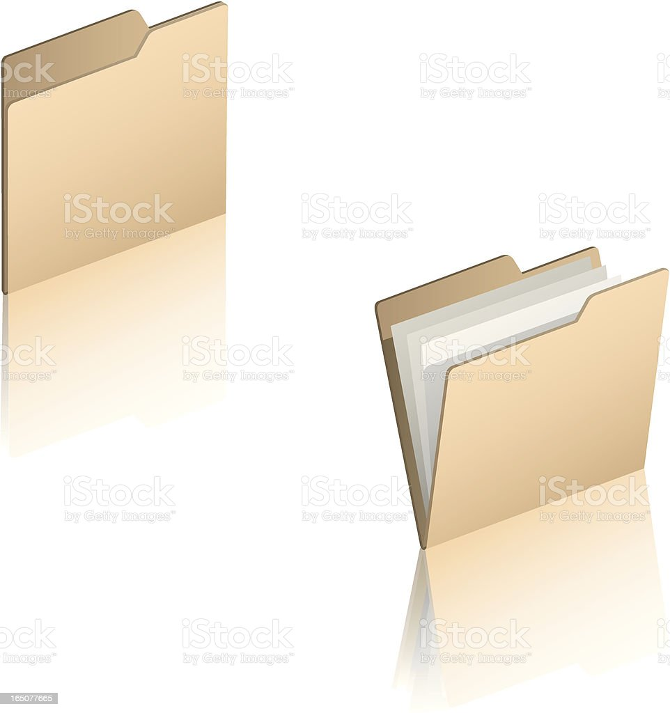 Vector File Folders royalty-free vector file folders stock vector art & more images of business