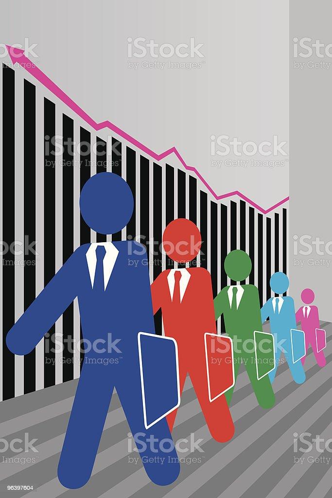 vector financial concept royalty-free stock vector art