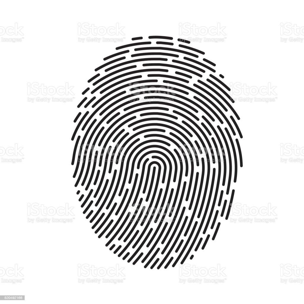 vector fingerprint stock vector art more images of black color rh istockphoto com fingerprinting victoria fingerprinting victoria tx