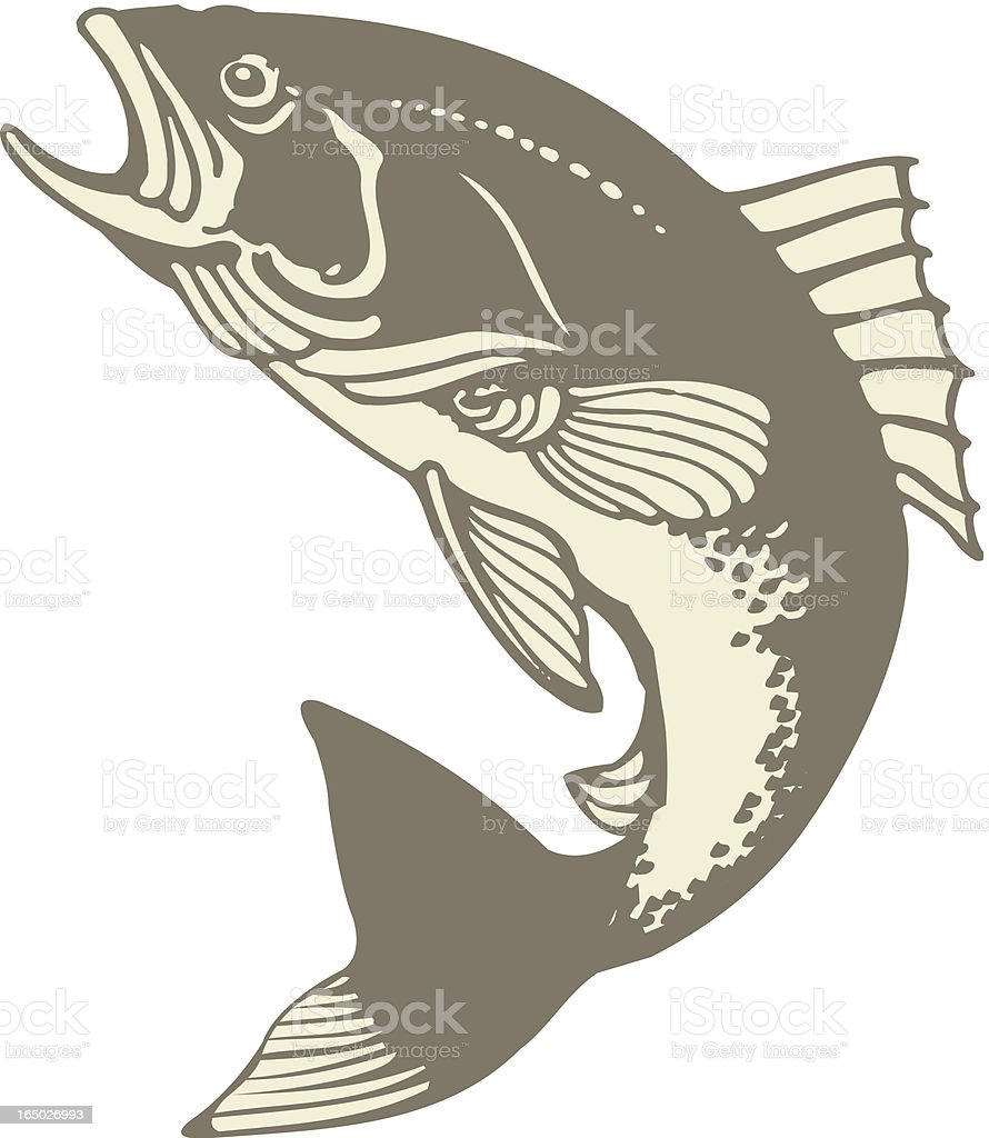 Vector Fish royalty-free stock vector art