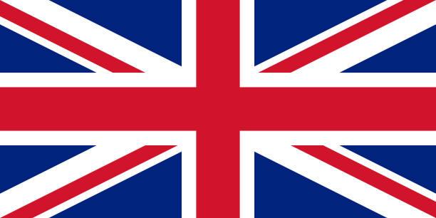 미국 브리튼과 북 아 일 랜드의 벡터 플래그입니다. 1:2 비율 영국 국기 유니온 잭입니다. 유니온 플래그입니다. 영국 국기입니다. 영국 국기입니다. - 영국 국기 stock illustrations