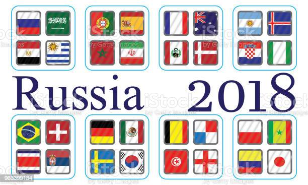 Wektorowe Flagi Kraju Wykres Informacyjny Flag Kraju - Stockowe grafiki wektorowe i więcej obrazów Afryka