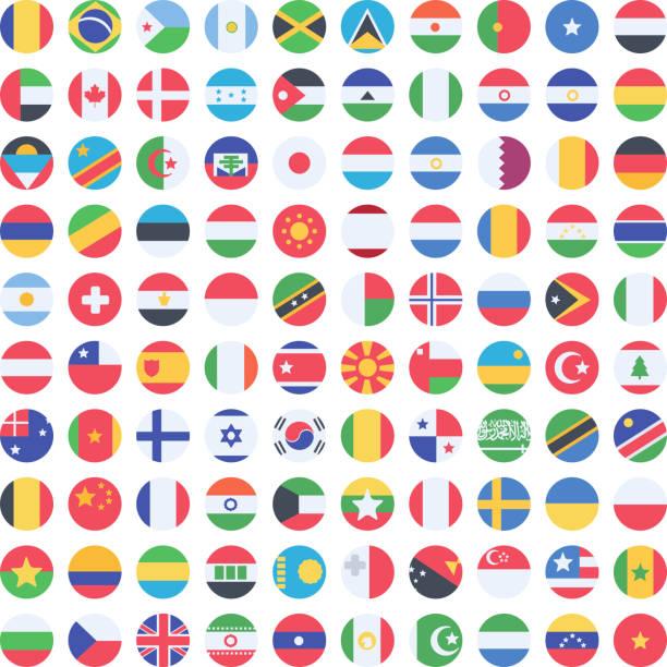 stockillustraties, clipart, cartoons en iconen met vector flags - oost duitsland