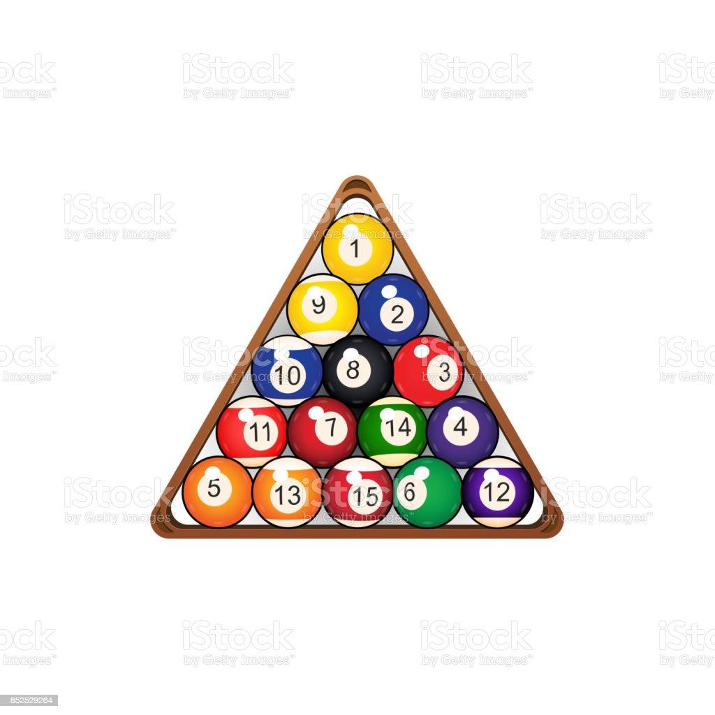 billard triangle