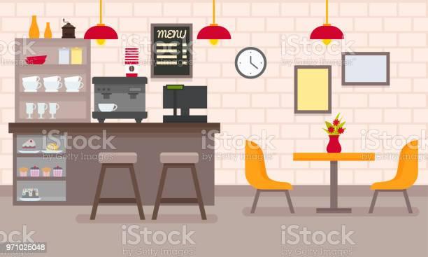 Vector flat cafe interior vector id971025048?b=1&k=6&m=971025048&s=612x612&h=9dwzz peu8tufn8mhlfg64semhdebsxx 7ig4axlkam=