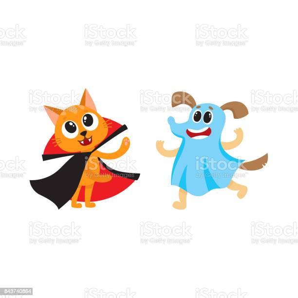 Vector flat cat dracula dressed up ghost dog set vector id843740864?b=1&k=6&m=843740864&s=612x612&h=cg2ozhvmij dh9lluoyqavhu7wvu3gfffp8ig1rylve=