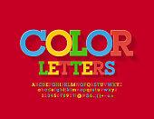 Bright Font for Children Promotion, Marketing, Advertising