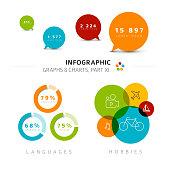 istock Vector flat design infographic elements 859389478