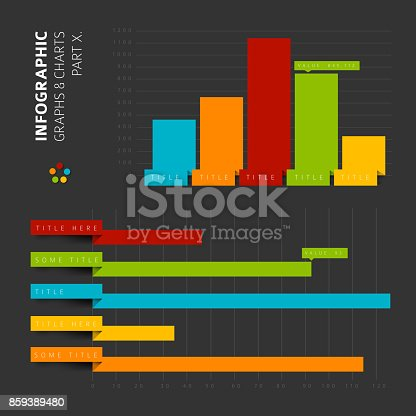 istock Vector flat design infographic elements 859389480