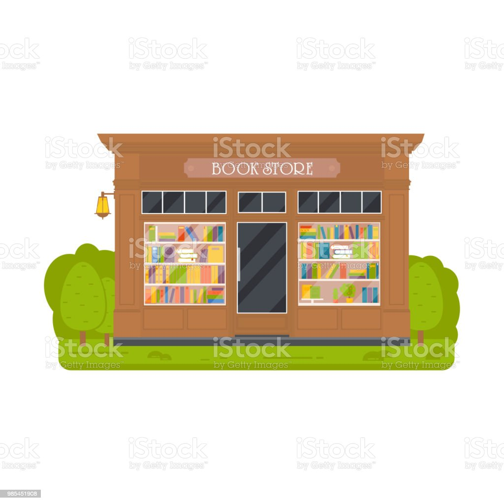 Vector Flat Design Restaurants Exterior And Shops Facade Stock Illustration Download Image Now Istock