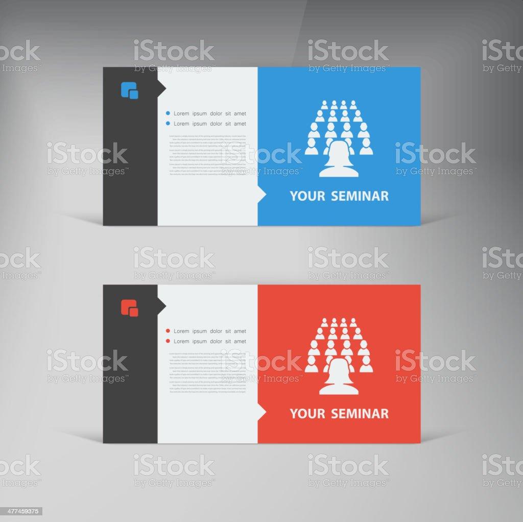 Vector flat UI design trend set  business royalty-free stock vector art