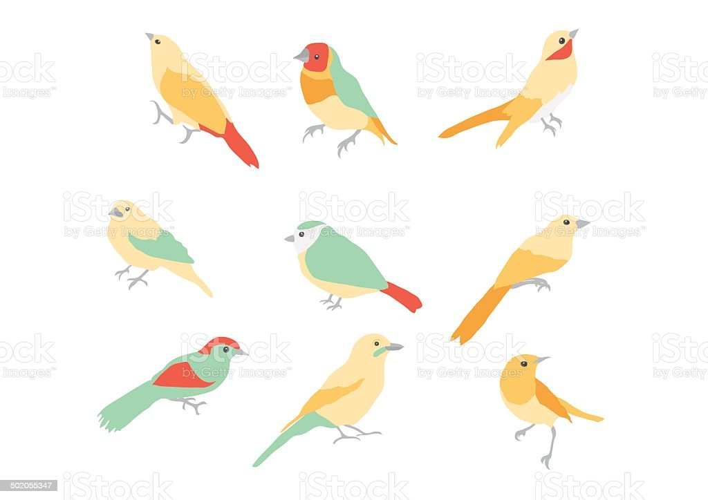 Vector flock birds silhouettes royalty-free vector flock birds silhouettes stock vector art & more images of 1950-1959