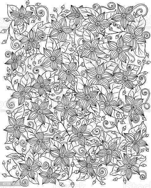 Vector floral background hand drawn retro flowers and leaves vector id472373519?b=1&k=6&m=472373519&s=612x612&h=hyfjav3r05mi4jij u4kpsqyfdmuyzj q99zol2grsg=