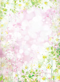Vector  floral background.