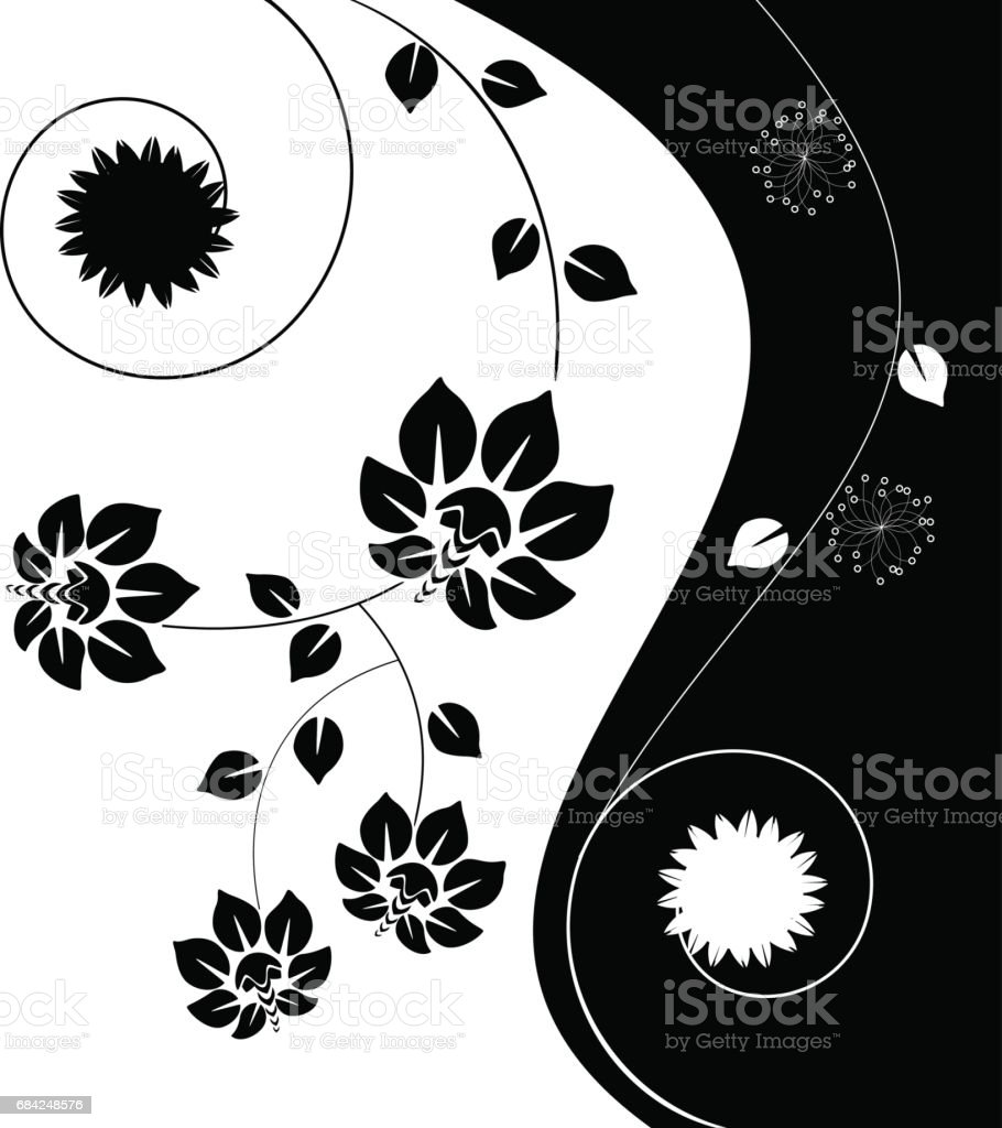 Vector floral background royalty-free vector floral background stock vector art & more images of backgrounds
