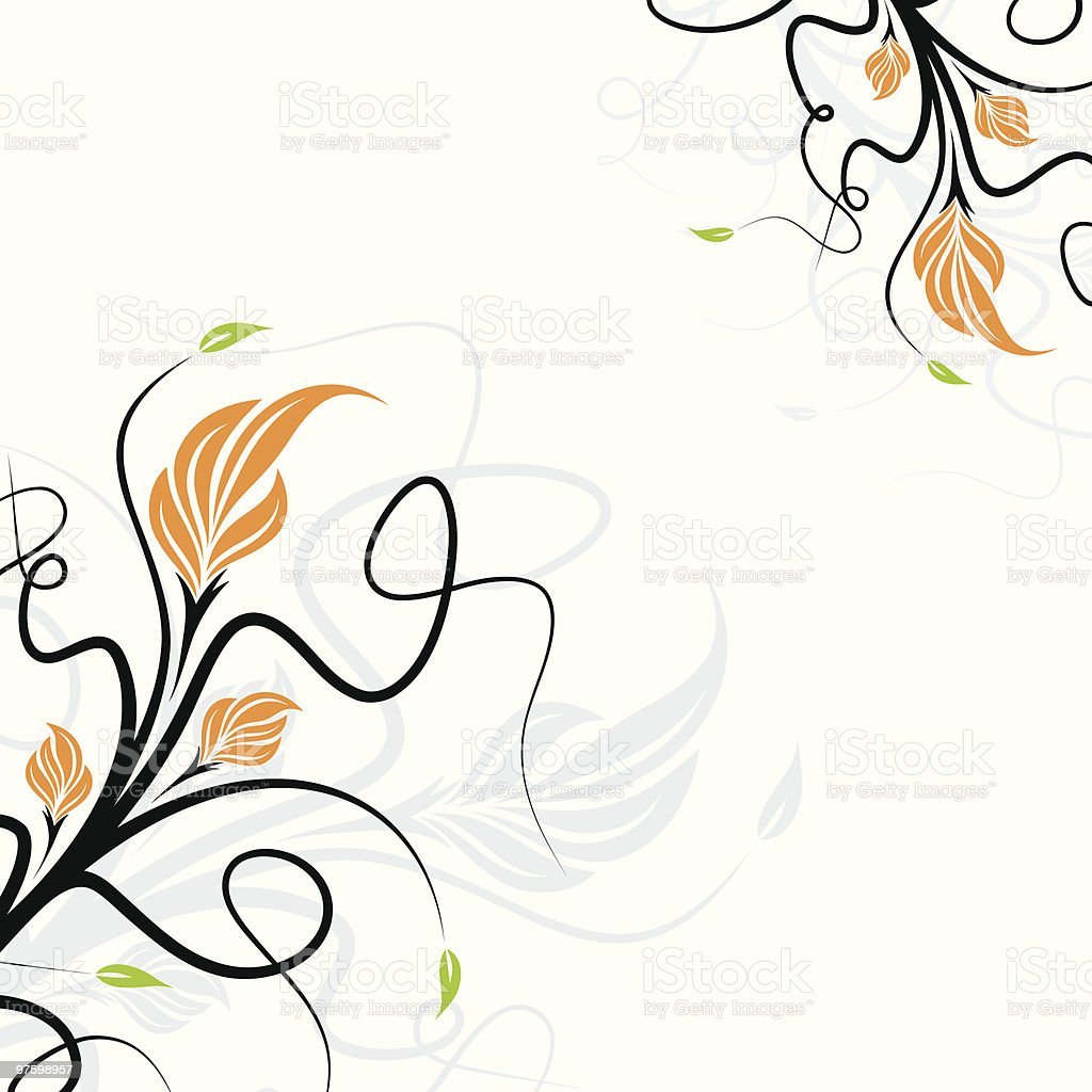 Vector floral background royalty-free vector floral background stock vector art & more images of abstract