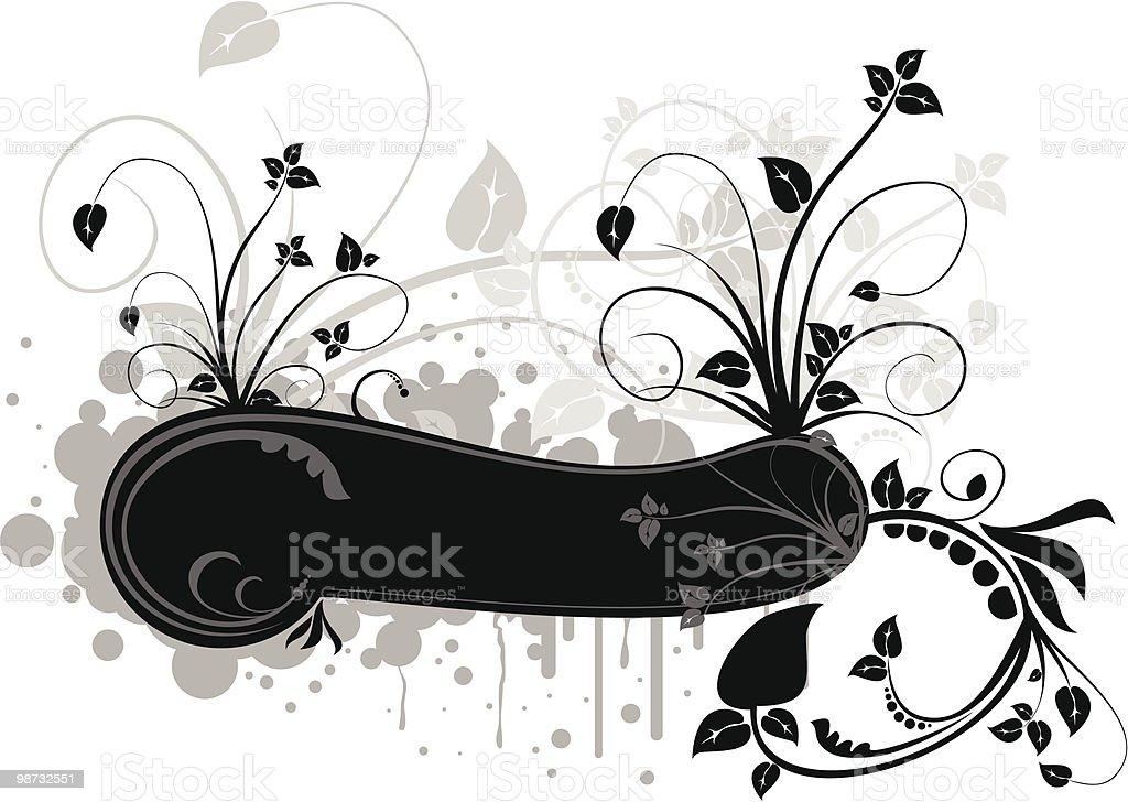 vector floral frame Lizenzfreies vector floral frame stock vektor art und mehr bilder von abstrakt