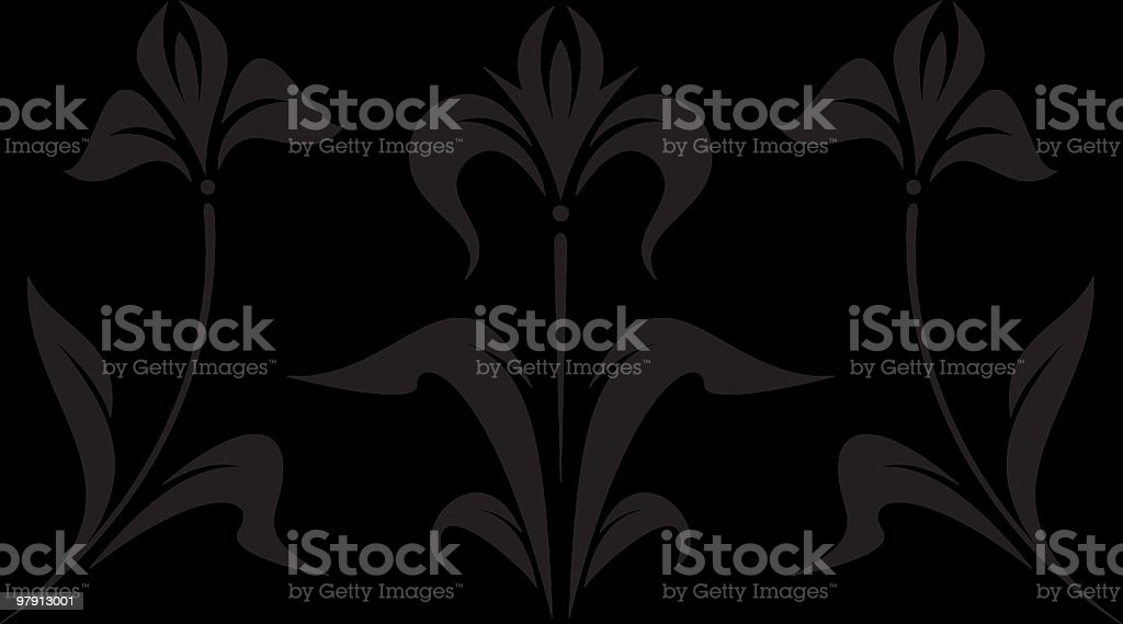 Vector Floral Ornament royalty-free vector floral ornament stock vector art & more images of art