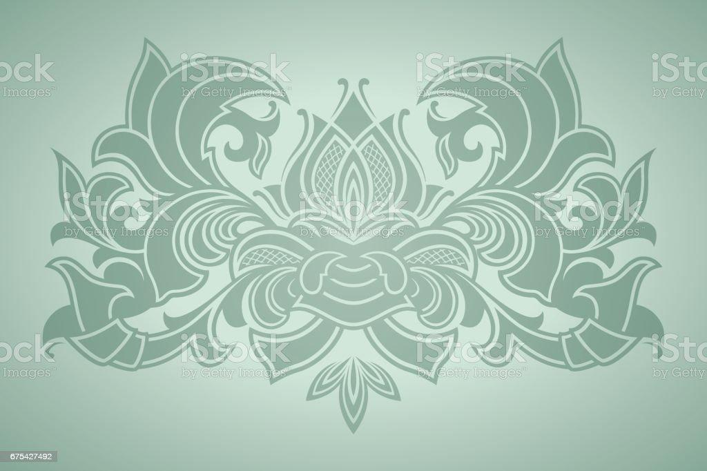 Vector floral pattern royalty-free vector floral pattern stok vektör sanatı & antika'nin daha fazla görseli
