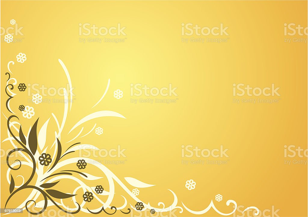 Vector Flower Background royalty-free vector flower background stock vector art & more images of angle