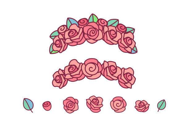 Easy To Draw Flower Crown