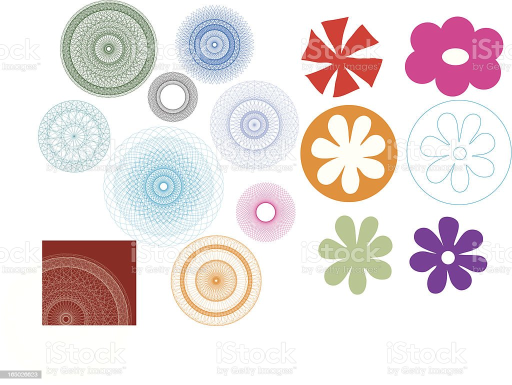 Vector Flowers kaleidoscope royalty-free vector flowers kaleidoscope stock vector art & more images of abstract