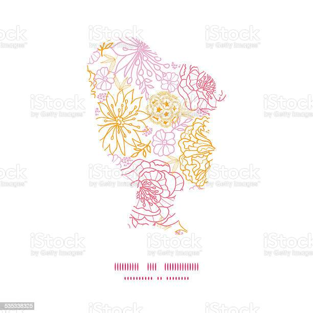Vector flowers outlined girl portrait silhouette pattern frame vector id535338325?b=1&k=6&m=535338325&s=612x612&h= ett3d0r5 05omojbu34a1lubnyeneo7wfcarjb1ykq=