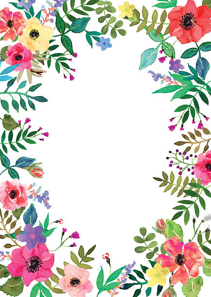 Royalty free floral border clip art vector images illustrations vector flowers set colorful floral collection with leaves and flowers vector art illustration altavistaventures Image collections