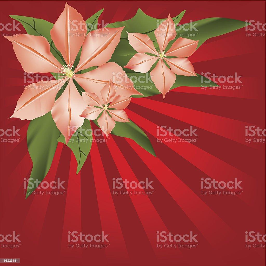 vector flowers vector art illustration