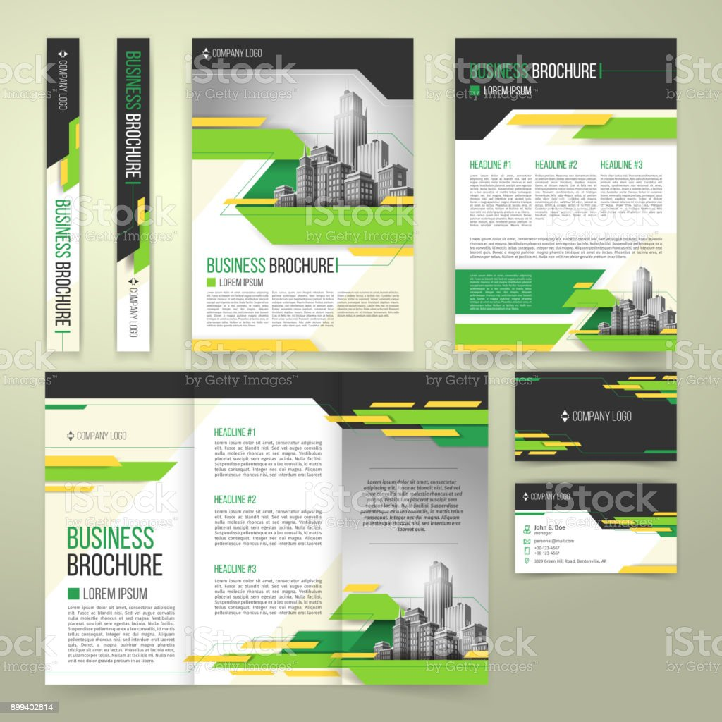 Vector flyer, cover design, business brochure and card vector art illustration