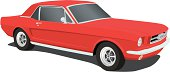 Vector Ford Mustang - 1965