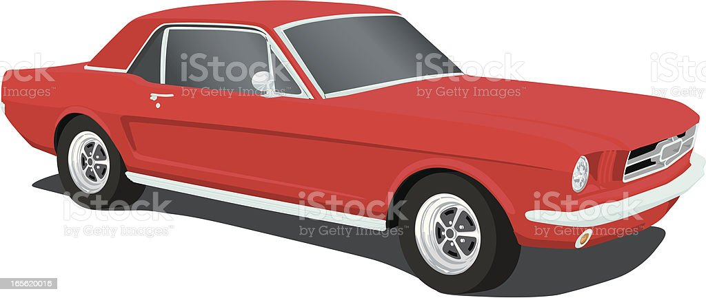 ford mustang clip art, vector images & illustrations - istock