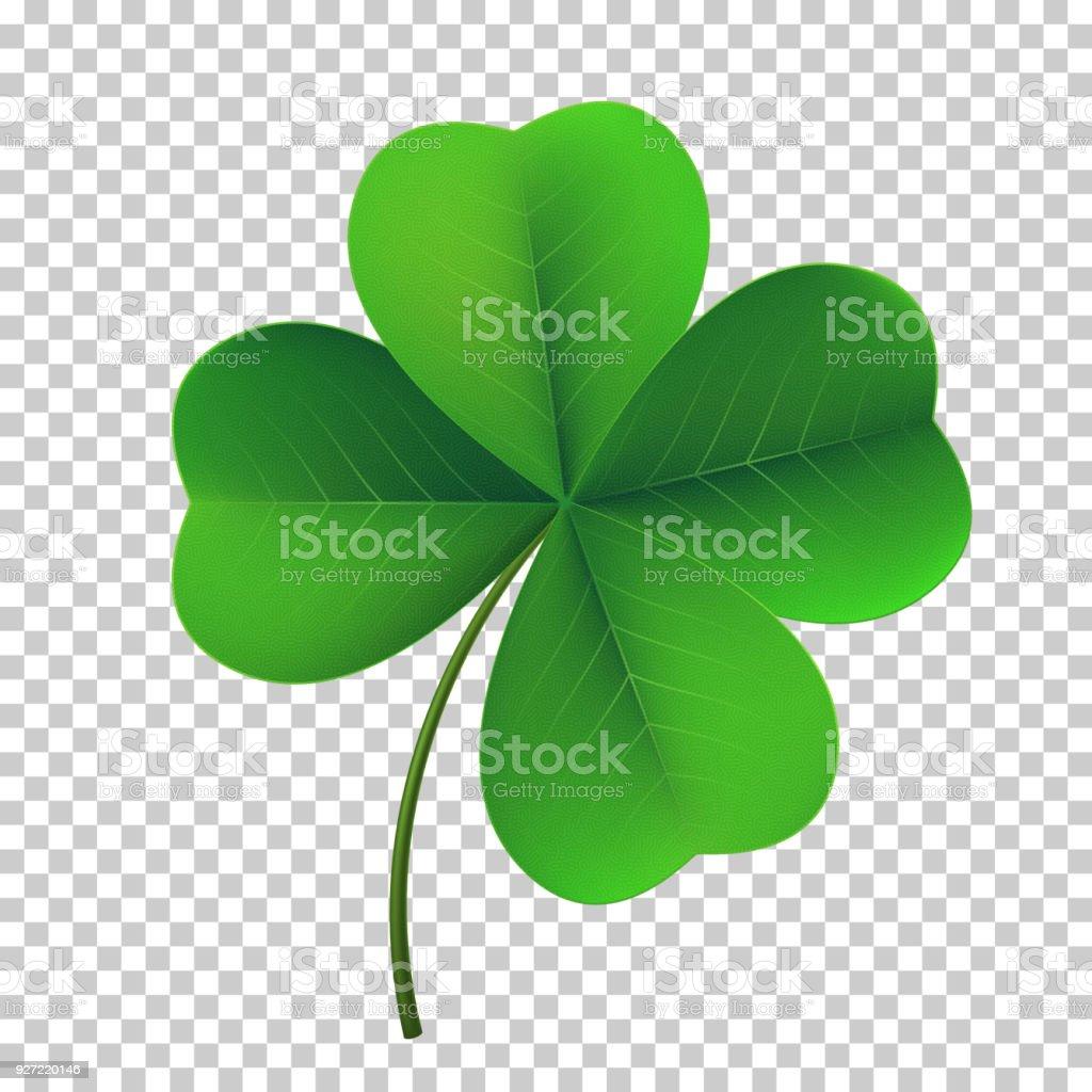 Vector fourleaf shamrock clover icon lucky fowerleafed symbol of vector four leaf shamrock clover icon lucky fower leafed symbol of irish beer biocorpaavc Gallery