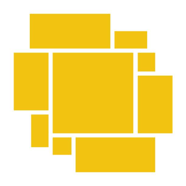 ilustrações, clipart, desenhos animados e ícones de quadro de vetor para fotos. - mood board