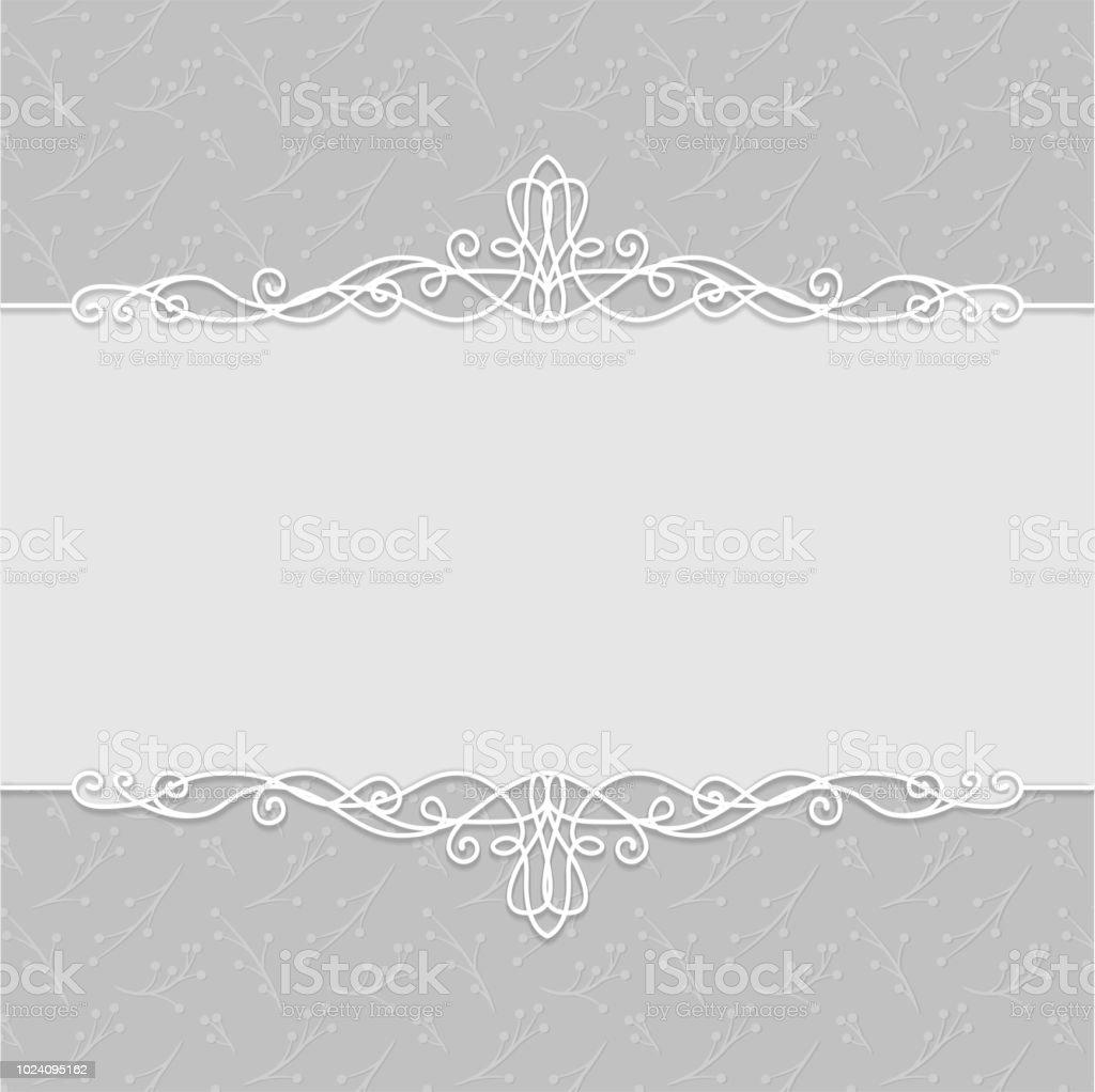 Vektor Rahmen Des Schönen Hochzeitseinladungen Postkarten Grußkarten