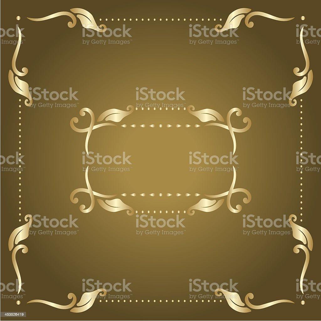 Vector frame. royalty-free stock vector art