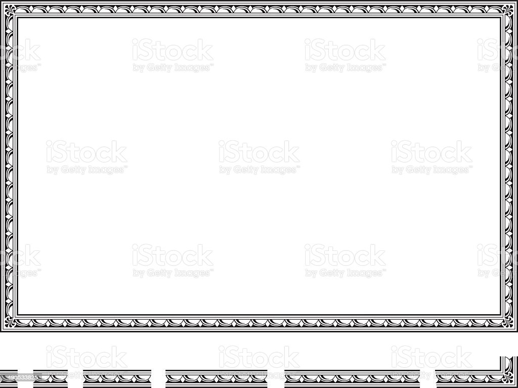 Vector frame royalty-free stock vector art