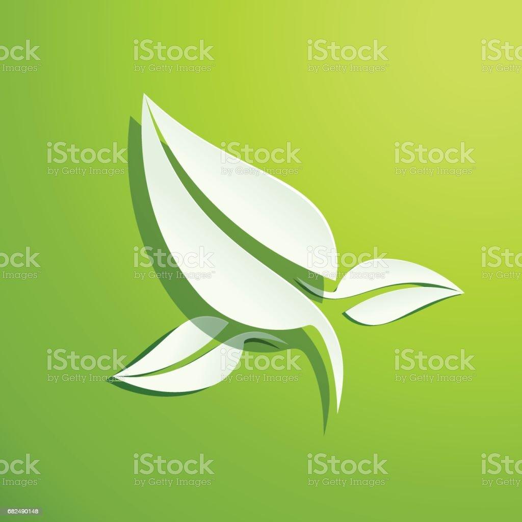 Vector Fresh green leaves background. Spring concept vector fresh green leaves background spring concept — стоковая векторная графика и другие изображения на тему Абстрактный Стоковая фотография