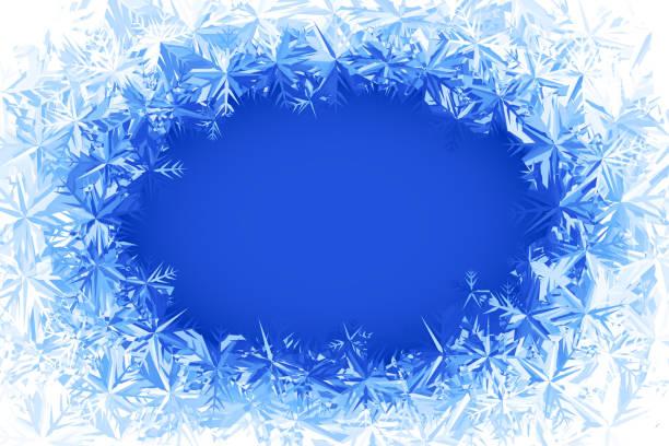 vektor frost frame - eiszapfen stock-grafiken, -clipart, -cartoons und -symbole