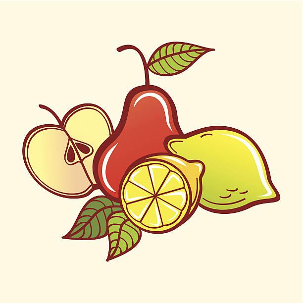Vektor-Obst – Vektorgrafik