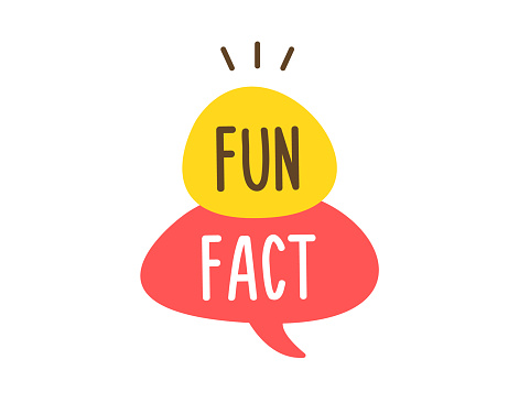 Vector fun and cheerful doodle speech bubble with the words Fun Fact. Vector concept illustration