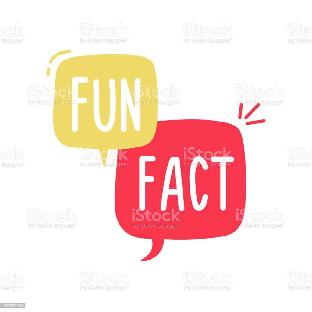 Divertido vector y alegre doodle discurso burbuja con las palabras dato divertido. Ilustración del concepto de vector ilustración de divertido vector y alegre doodle discurso burbuja con las palabras dato divertido ilustración del concepto de vector y más vectores libres de derechos de alegre libre de derechos