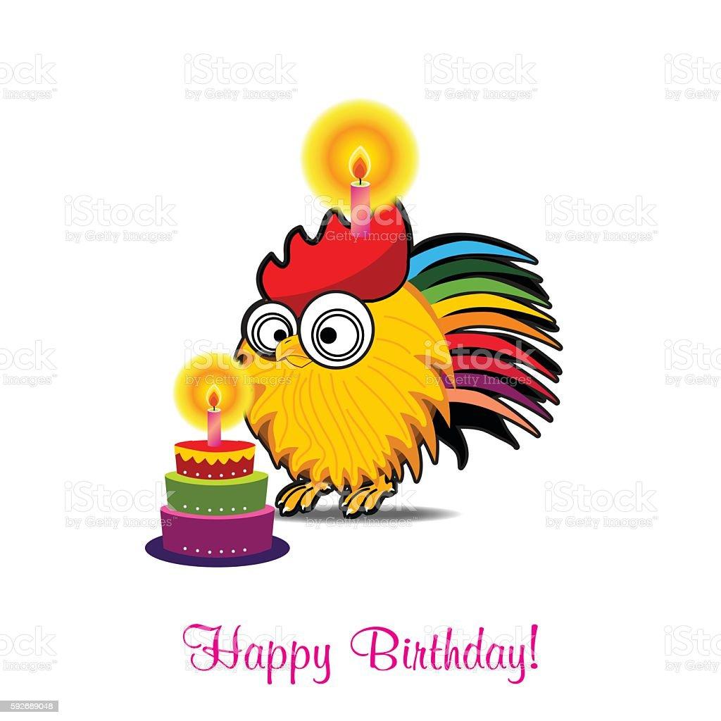 Vector Funny Birthday Card Cliparts Vectoriels Et Plus D Images De