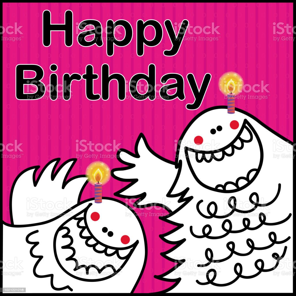 Vector Funny Birthday Greeting Card Stock Vector Art More Images