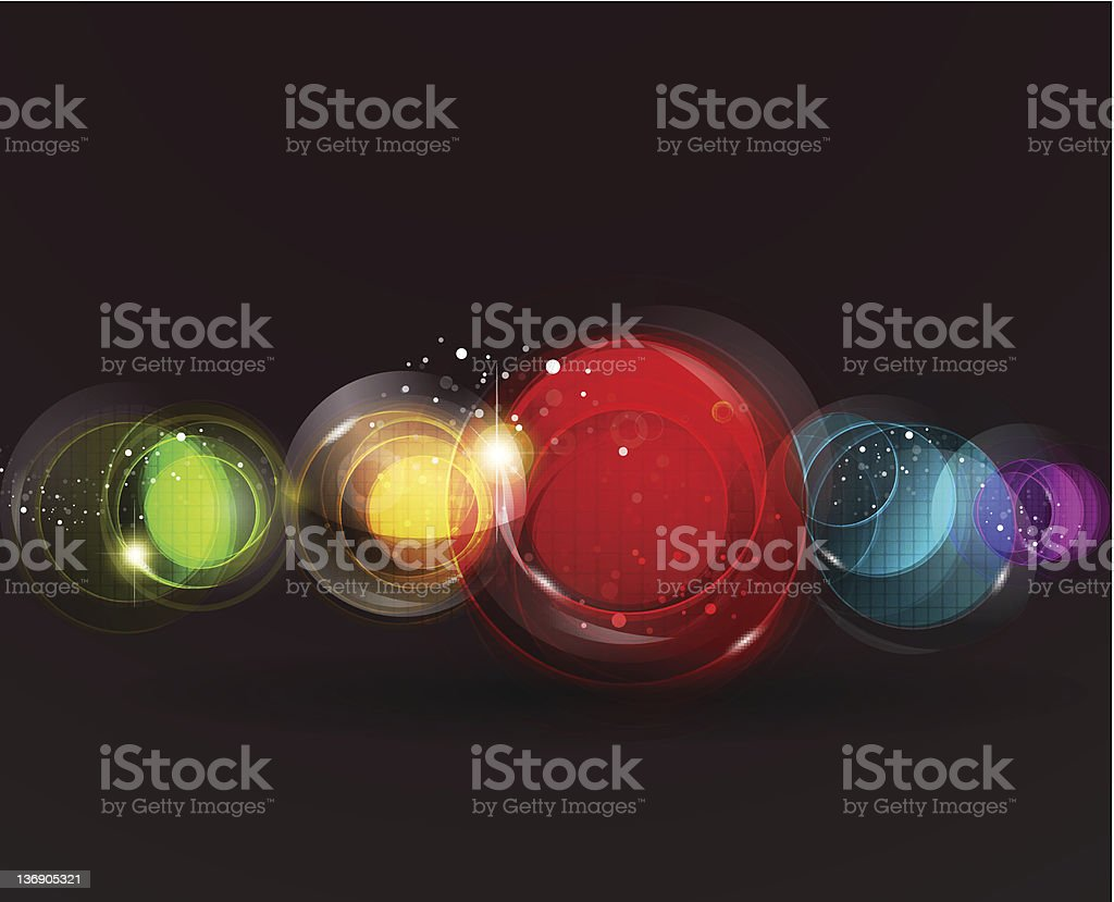 Vector futuristic background royalty-free stock vector art