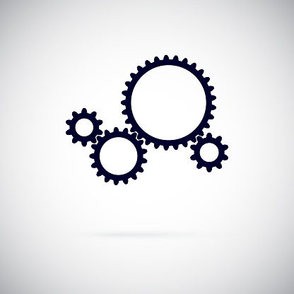 Vector Gears Stock Illustration - Download Image Now