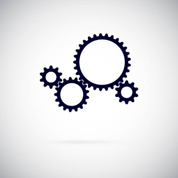 Vector Gears vector art illustration