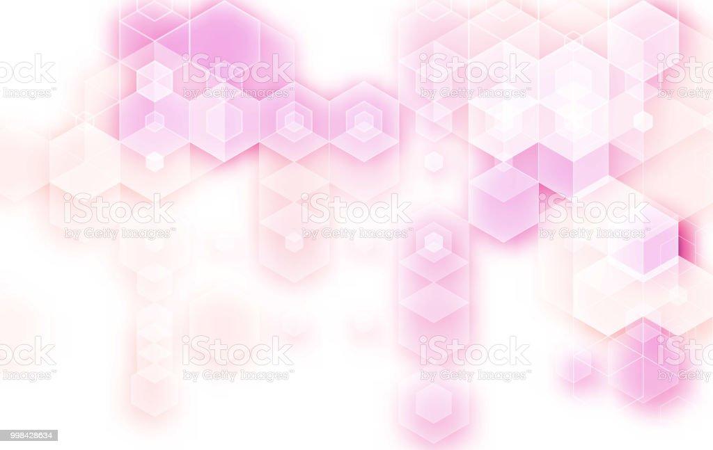 Vektor Geometrischen Hintergrund Templatebroschüre Design Blaue ...