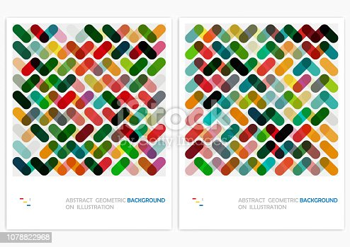 Vector Geometric Pattern Backgrounds