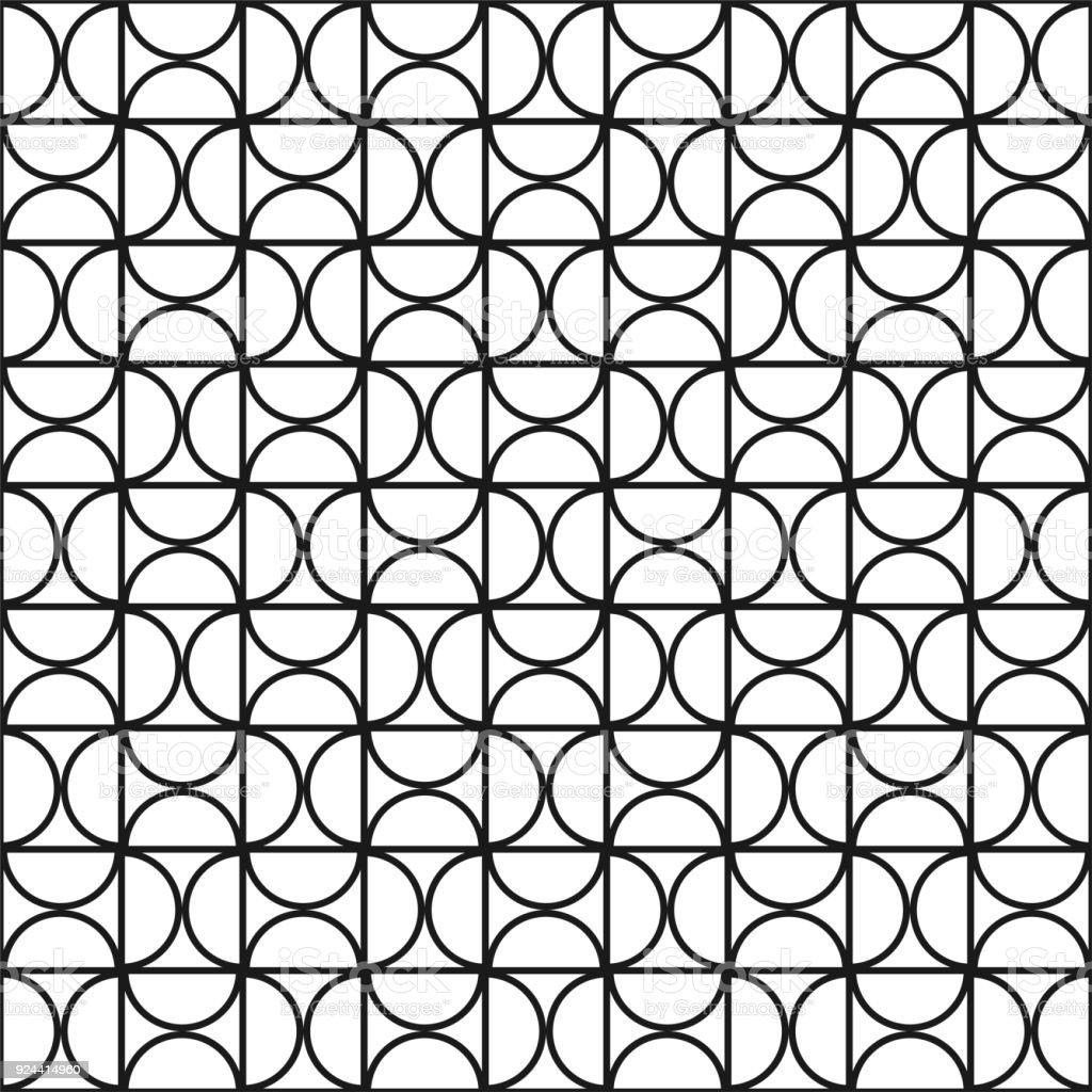 Ilustración de De Patrones Sin Fisuras Geométricas Vectoriales ...